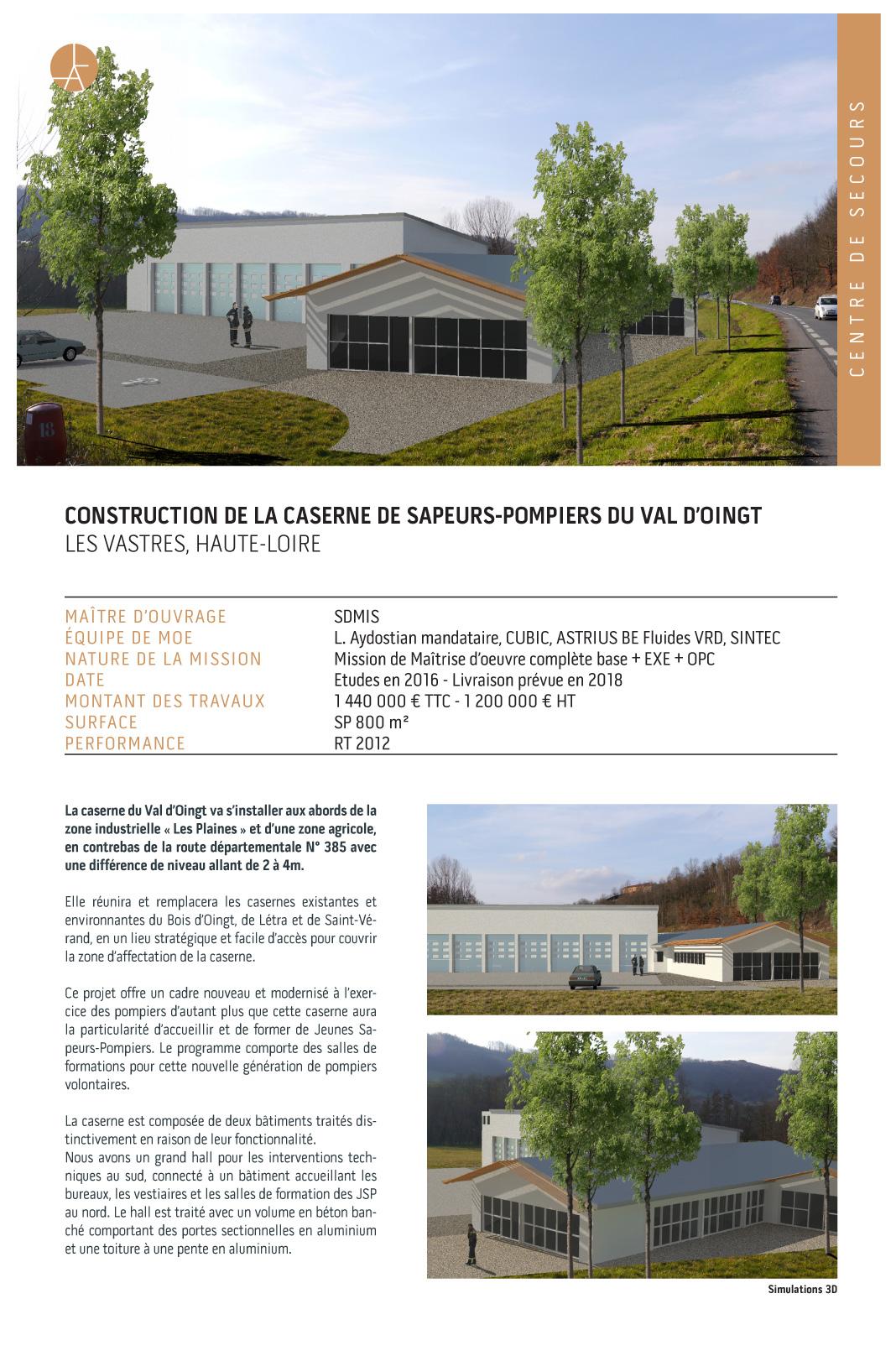 c621faca26aa Linda aydostian » Archive » Caserne de sapeurs-pompiers du Val d Oingt