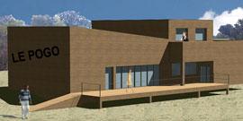 Construction d'un café concert - le poggo»